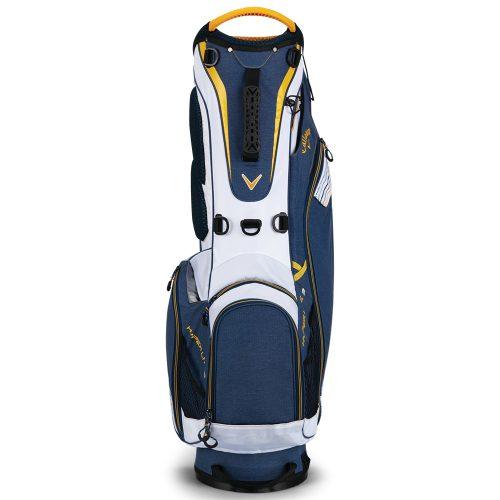 Callaway Hyper Lite 3 Stand Bag 2018 Navywhitegold Golf Exchange