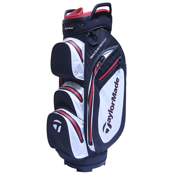 00563a09d9 Taylormade Waterproof Cart Bag TM17 Black White Red